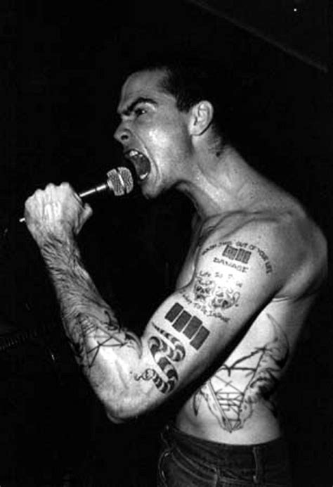 black flag tattoo henry rollins black flag