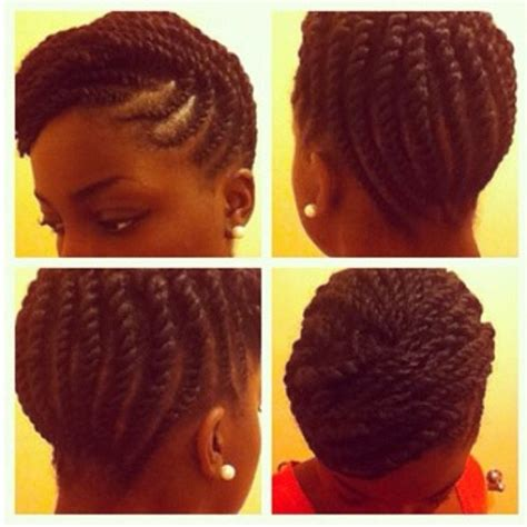 2 strand updos 2 strand flat twisted updo hair pinterest flat twist