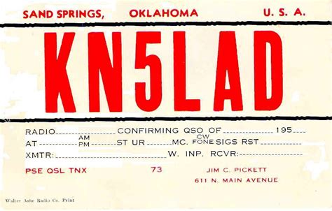 how to make qsl cards k5lad qsl cards