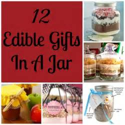 Best Edible Gifts - 12 edible gifts in a jar