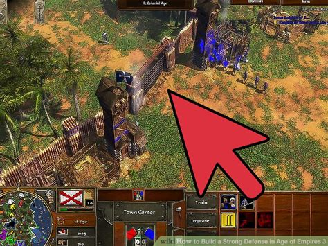 age of empires 3 how to build a strong defense in age of empires 3 6 steps