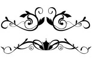 vector floral ornamental border clip art 123freevectors