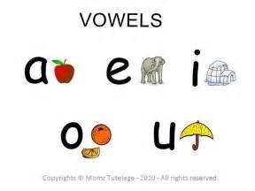 vowels momz tutelage