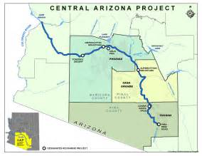 central arizona map map of central arizona my