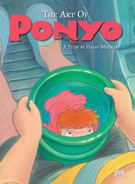 ponyo picture book the of ponyo by hayao miyazaki hardcover barnes