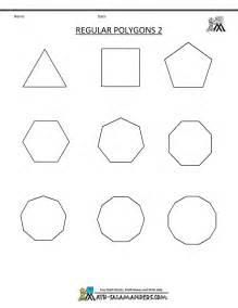 regular polygons worksheet