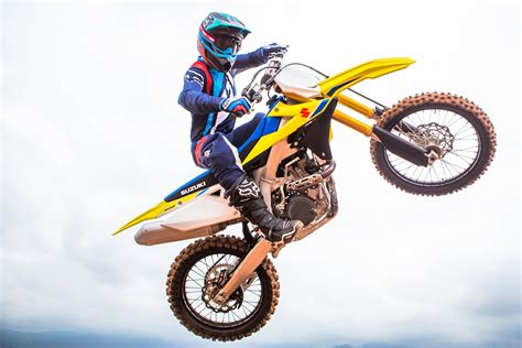 first motocross 2018 suzuki rm z450 first look 10 fast facts