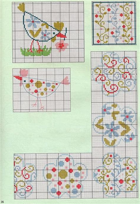 abstract pattern cross stitch abstract flowers cross stitch pattern free cross stitch