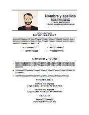 Resume No Nos by 69 Modelos De Curriculum Vitae Exitosos Para Descargar En Word