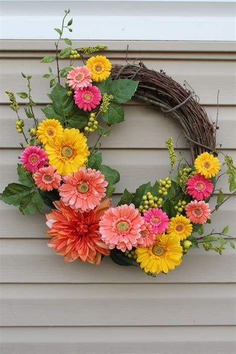 spring wreath ideas 25 may day ideas