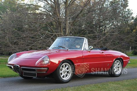 alfa romeo 1600 sold alfa romeo duetto 1600 spider auctions lot 22