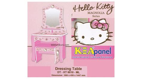 Meja Rias Panel meja rias anak hello dt kt 8010 ml kea panel
