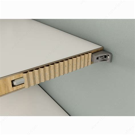 Concealed Shelf Supports by Triade Concealed Mounting Bracket For Honeycomb