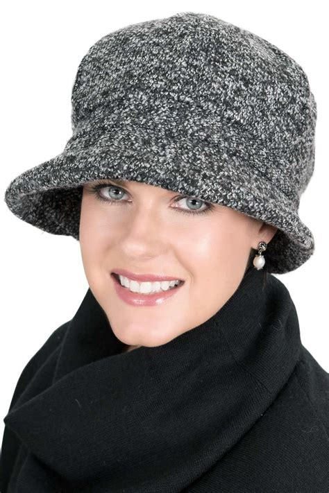 basic boucle cloche hat fall winter hats for