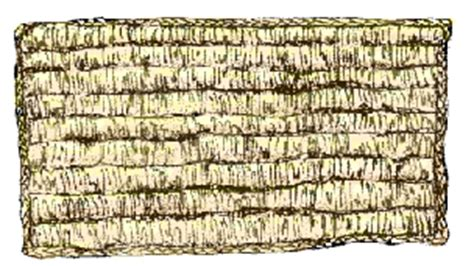 Corn Shuck Mattress by Corn Material Uses In The American Culture
