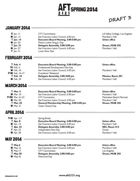 Ccsf Calendar Summer 2014 And 2014 15 Ccsf Academic Calendars Finally