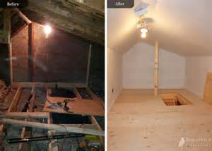 Small Old Kitchen Makeovers - attic conversion to storage by bowerbird renovations bowerbird renovations
