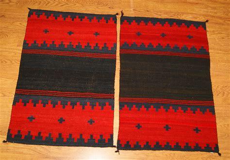 Navajo Rug Dress by Dress Panel A Pair Of Navajo Weavings