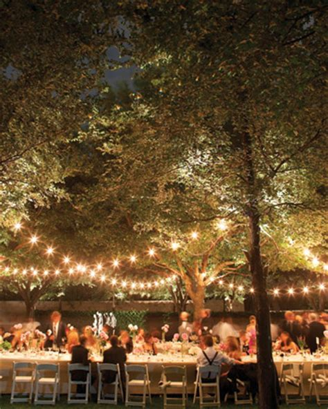 Lighting Ideas For Outdoor Weddings Lighting For Outdoor Wedding