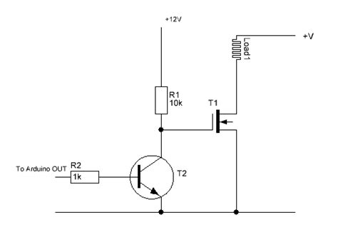 fet transistor usage using mosfets with ttl levels 5 volt and 3 3 volt