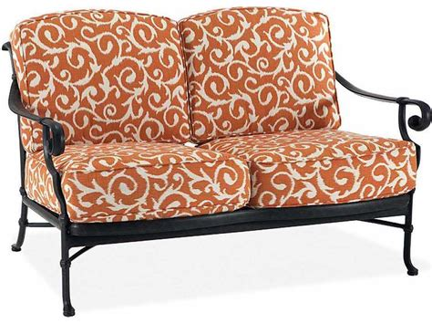 Winston Legacy Deep Seating Cast Aluminum Cushion Arm