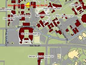 University Of Utah Map by The University Of Utah