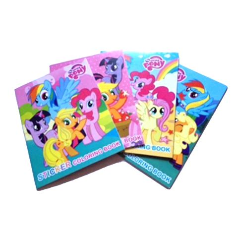 Buku Novel Wish 1 1 paket buku mewarnai mini sticker my pony dapat 4 buku hasbro coloring book kecil