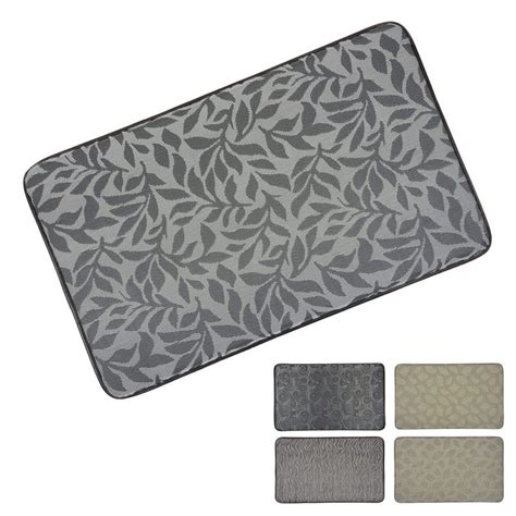 Memory Foam Kitchen Rug Memory Foam Anti Fatigue Comfort Home Kitchen Floor Mat 76x46cm
