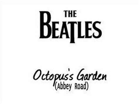 Octopus Garden Beatles by The Beatles Octopus S Garden Road Chords Chordify