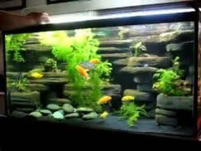 aquarium design ideas diy aquarium decoration ideas youtube