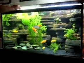 How To Make Fish Tank Decorations At Home Diy Aquarium Decoration Ideas