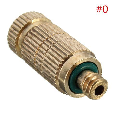 vaporizzatore da giardino 1 5pcs dia 0 1 0 5mm ugello in ottone per vaporizzatore