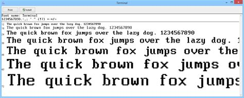 typography terminal what font says quot quot to you 171 singletrack forum