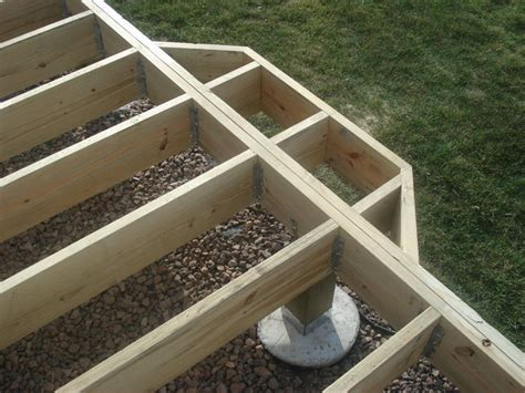 design decking frame deck foundations deck framing 4 quarters design