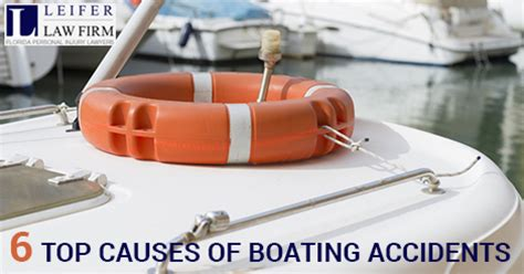 boating accident west palm beach boat crash in florida top six causes of boating accidents