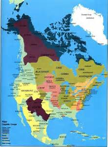 Map Of Native American Tribes In The United States by Western Belize Happenings Map Of North America Before
