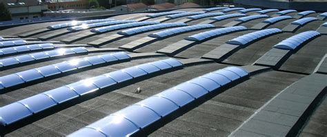 cupole policarbonato produzione pensiline tunnel cupole lucernari in