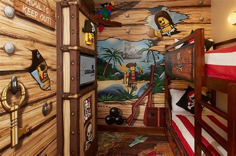 pirate sleeping area legoland fl orlando vacay
