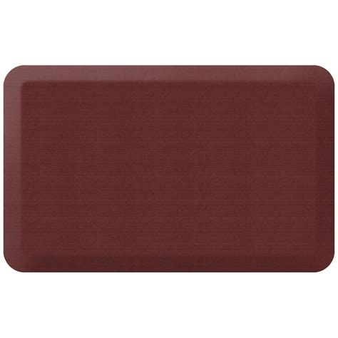Home Depot Grass Mat by Newlife Designer Grasscloth Crimson 20 In X 32 In Anti