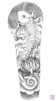 reference resume minimalist tattoos sleeves mexican koi sleeve by vexille84 on deviantart