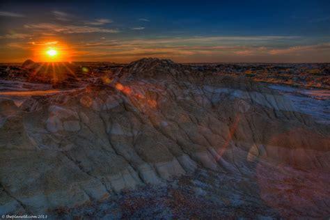 Alberta Comfort Camping A Dinosaur Sunset To Remember Adventure Travel Blog