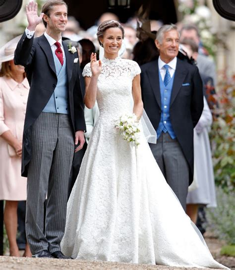 hochzeitskleid pippa middleton pippa middleton wedding dress compared to kate middleton