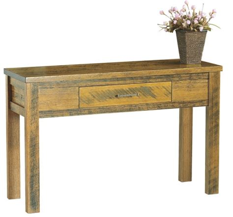 Rustic Hallway Table Rustic Table 171 Furniture Superstore