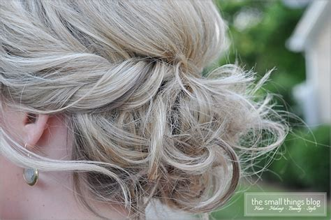 the clavicut the small things blog twisted updo the small things blog