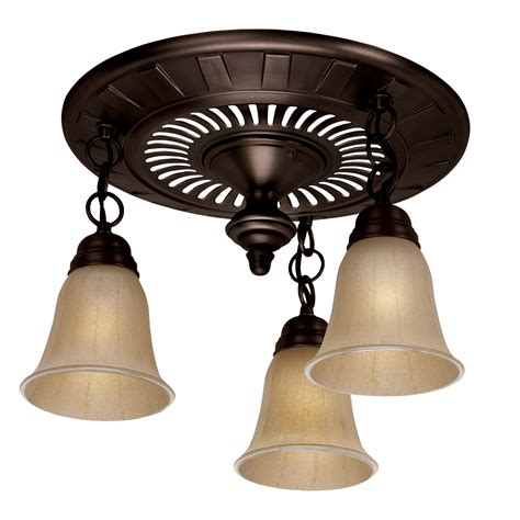 oil rubbed bronze bathroom exhaust fan with light garden district 3 light bathroom fan oil rubbed bronze