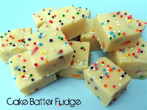 white chocolate cake batter fudge recipe six sisters stuff