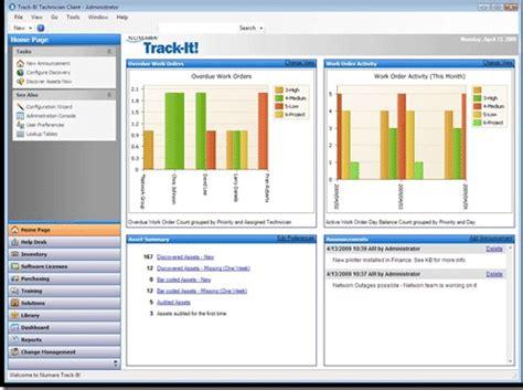 Trackit Help Desk by Bmc Track It It Help Desk Software Reviews