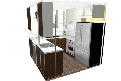 Refrigerator Placement In Galley Kitchen by Help Needed W Layout And Placement Of Refrigerator In