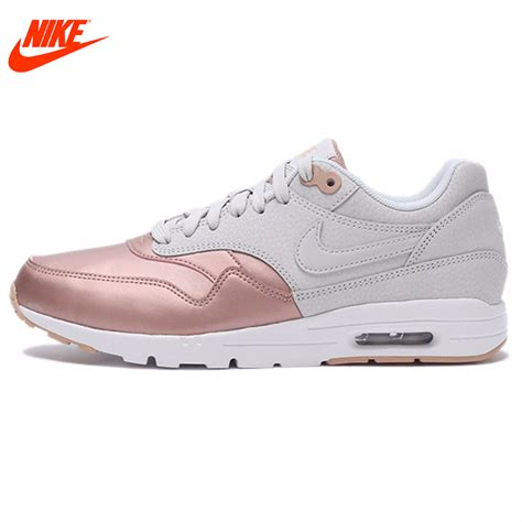 Original Bnib Nike Wmn Air Max 1 Essential Blackdove Grey original nike waterproof wmns air max 1 ultra se s running shoes sneakers in running shoes
