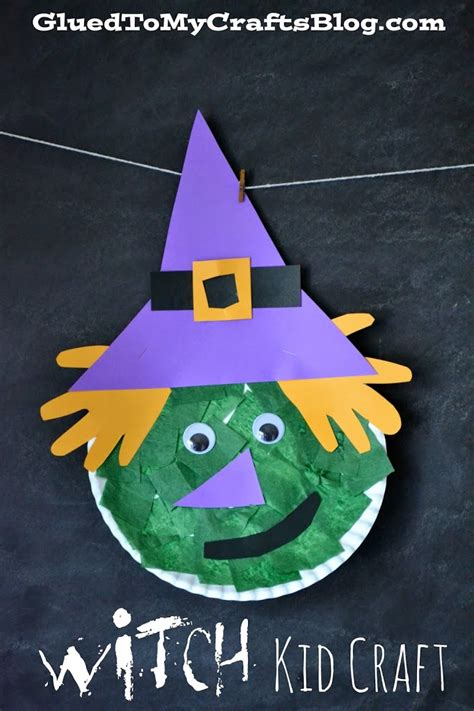 witch craft projects witch kid craft